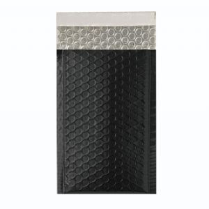 Metallic Black Foil Bubble Bags (Range of Sizes and Quantities)